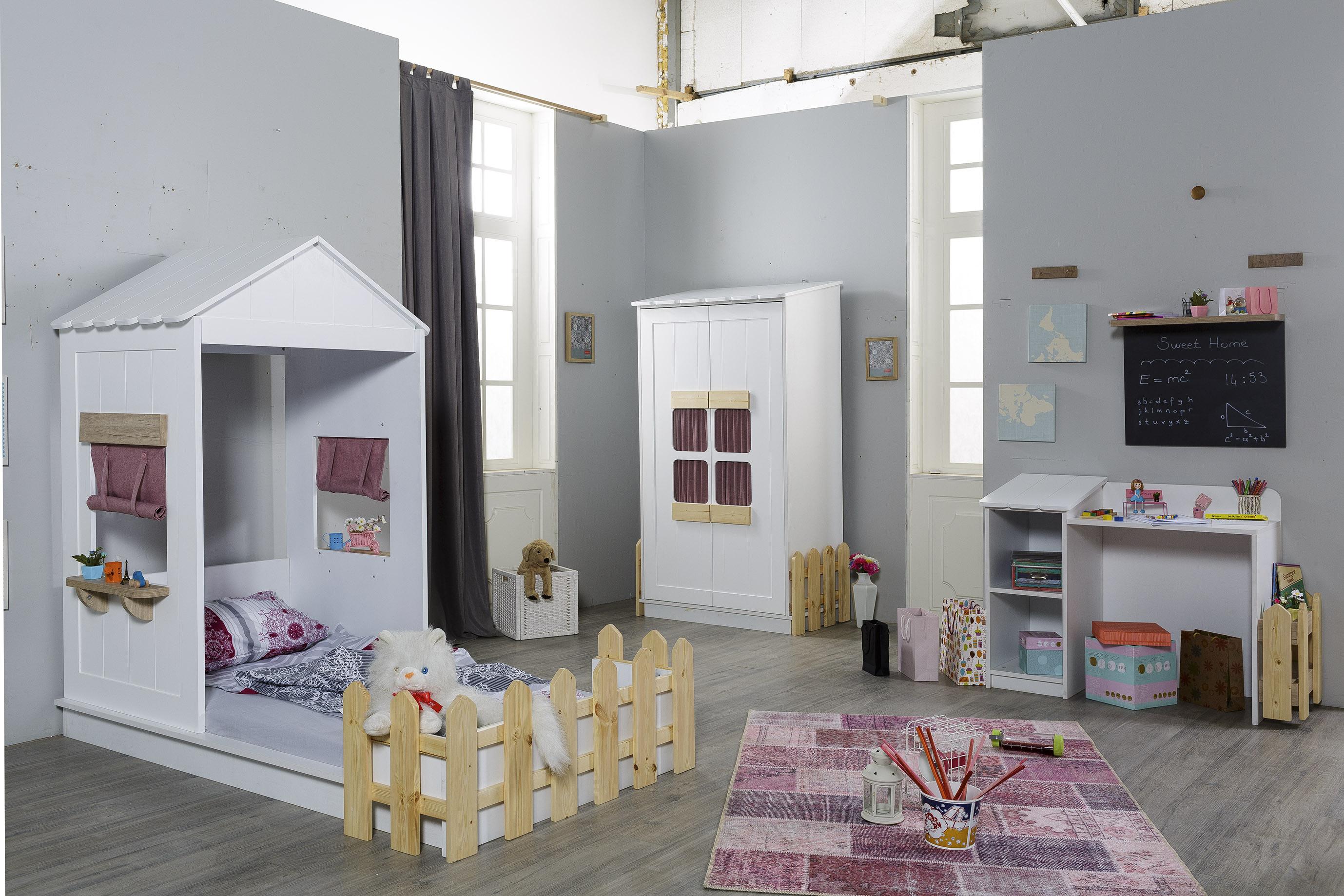 Mädchen-Kinderzimmer Set Sweet Home in Pink