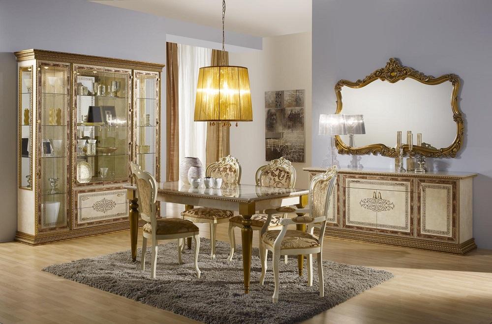 wohnzimmer tisch jenny beige gold stilmöbel glanz barock-sa-jen/b/tav3 - Wohnzimmer Beige Gold
