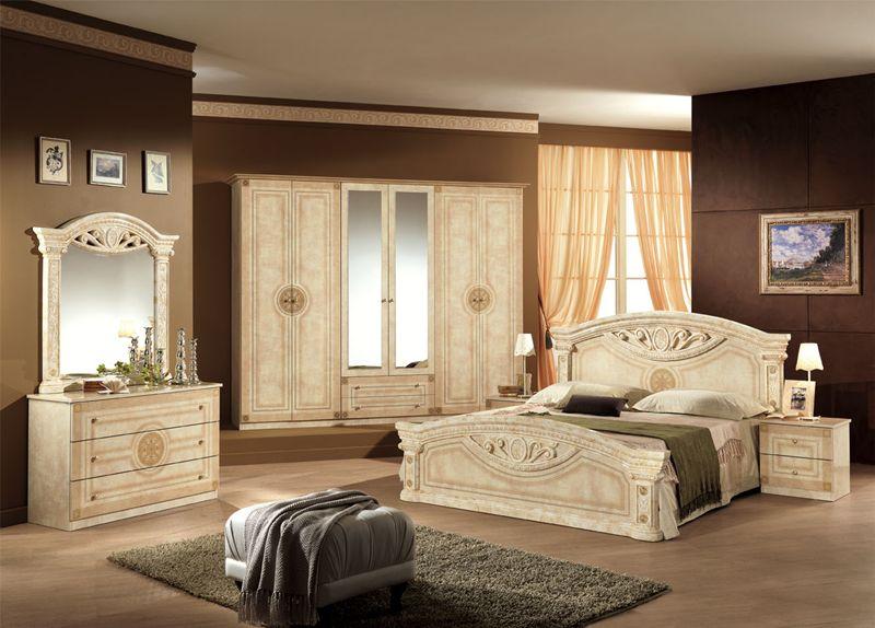 Kleiderschrank 6 t rig rana schwarz gold klassik barock - Babyzimmer barock ...