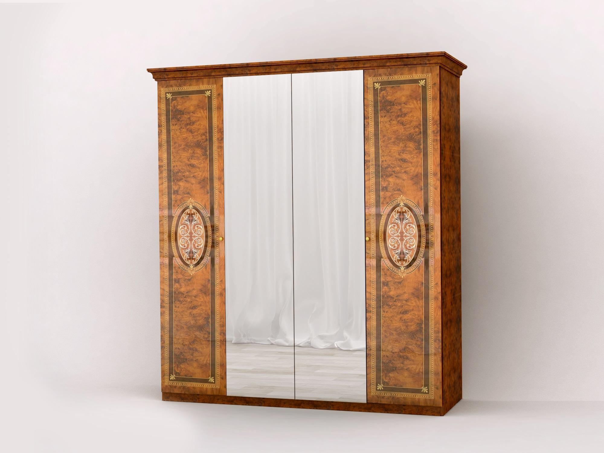 schlafzimmer lana beige klassischer stil bett 160x200 schrank 6 id set6. Black Bedroom Furniture Sets. Home Design Ideas