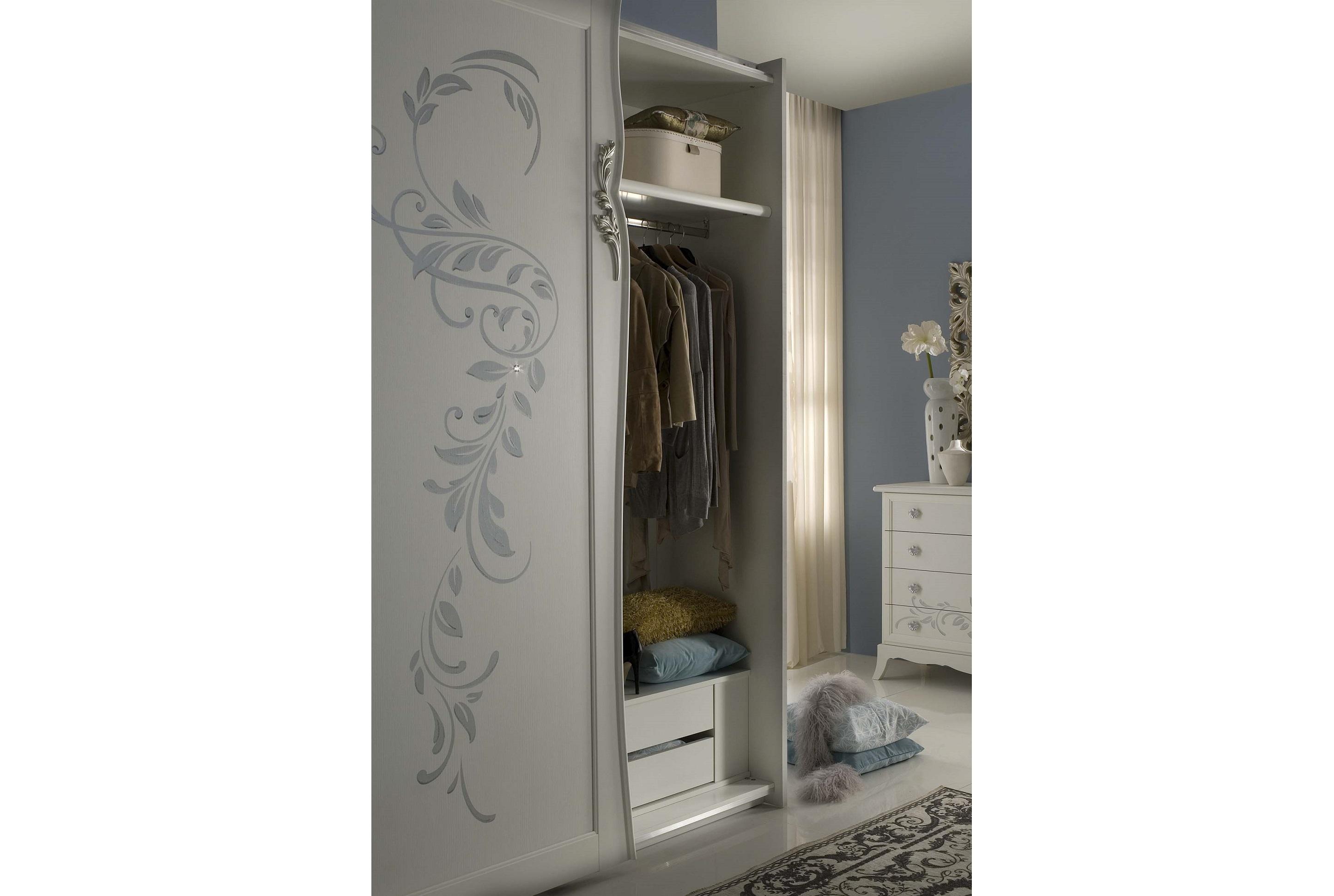 bett cilla weiss creme mit bettkasten stauraum luxus elite itali ca bt160. Black Bedroom Furniture Sets. Home Design Ideas
