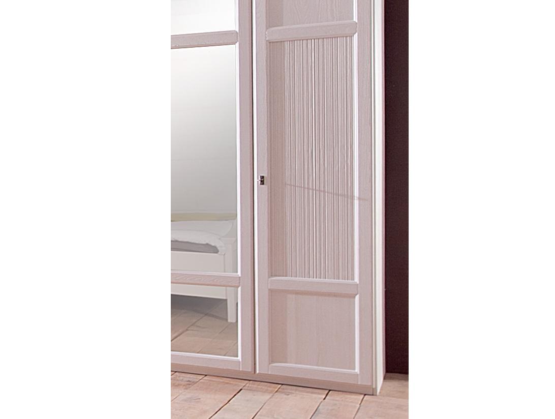 Schlafzimmer Christa im Landhausstil in weiss Pinie Massiv-50 90 CA ST02