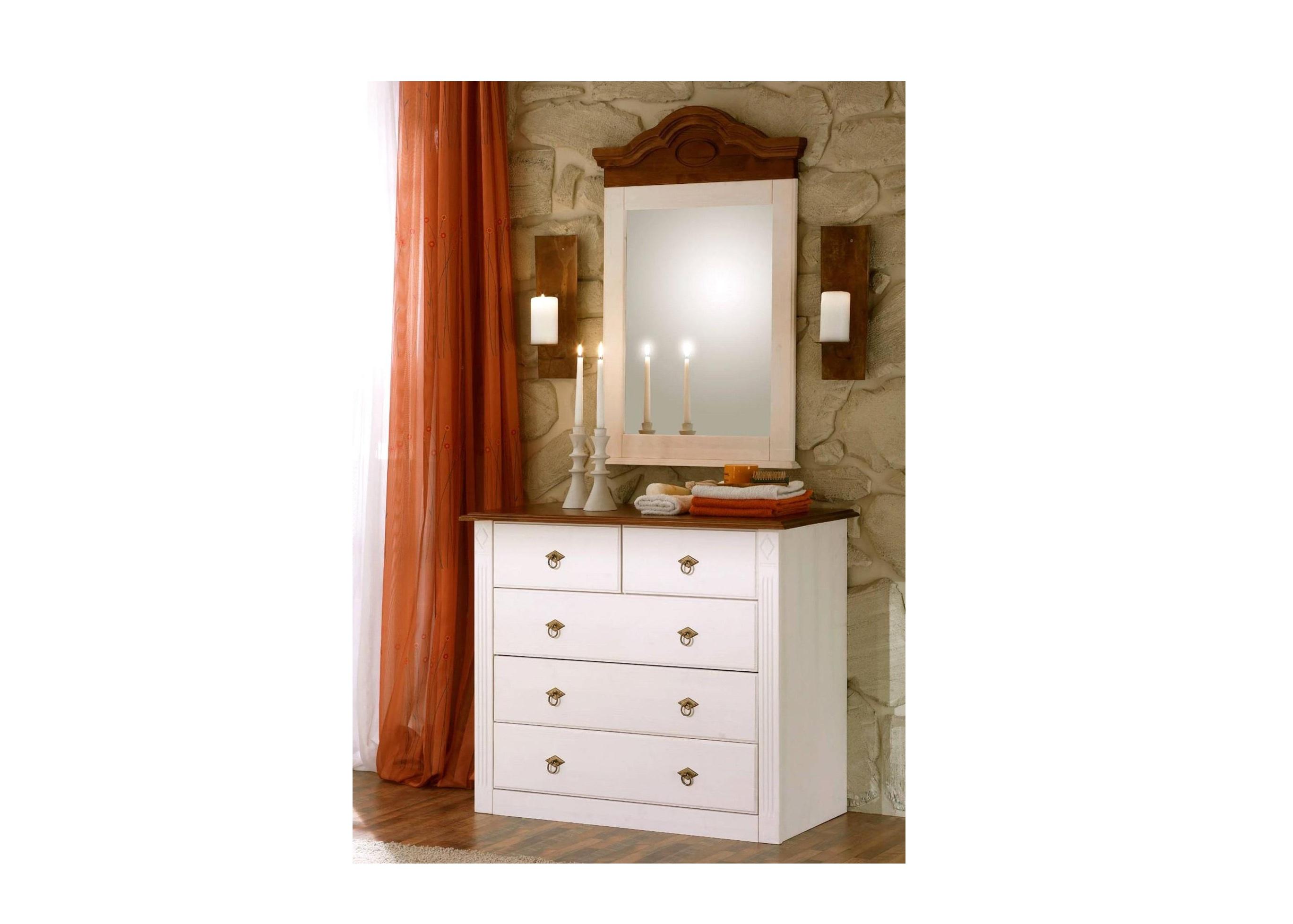 bett 180x200cm verra landhausstil pinie wei massiv 50 90 6d 51. Black Bedroom Furniture Sets. Home Design Ideas