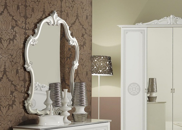 kommode great weiss silber klassik barock italienische m bel xp pkgrccom1. Black Bedroom Furniture Sets. Home Design Ideas