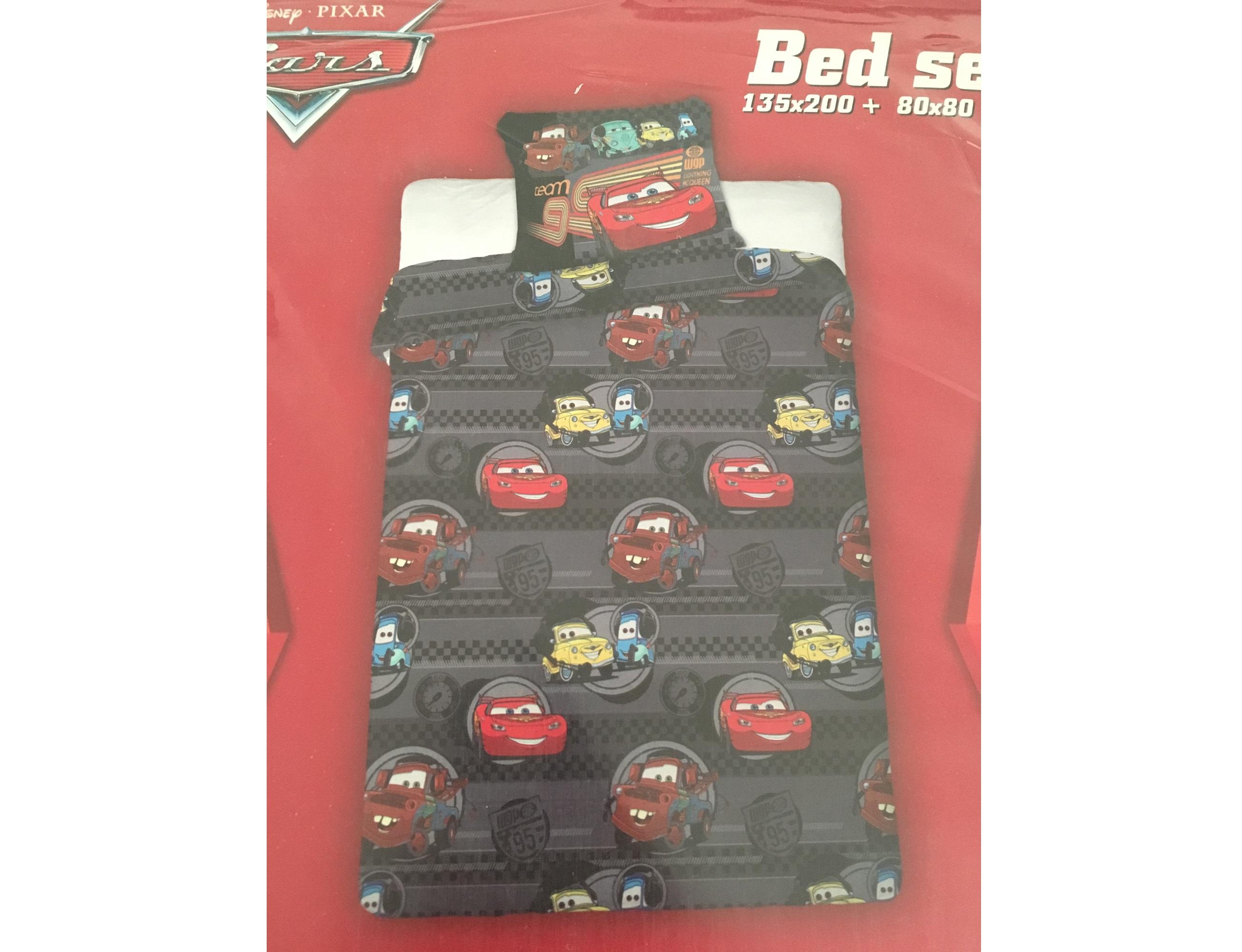 bettw sche cars team lightning mc queen bt tlm. Black Bedroom Furniture Sets. Home Design Ideas