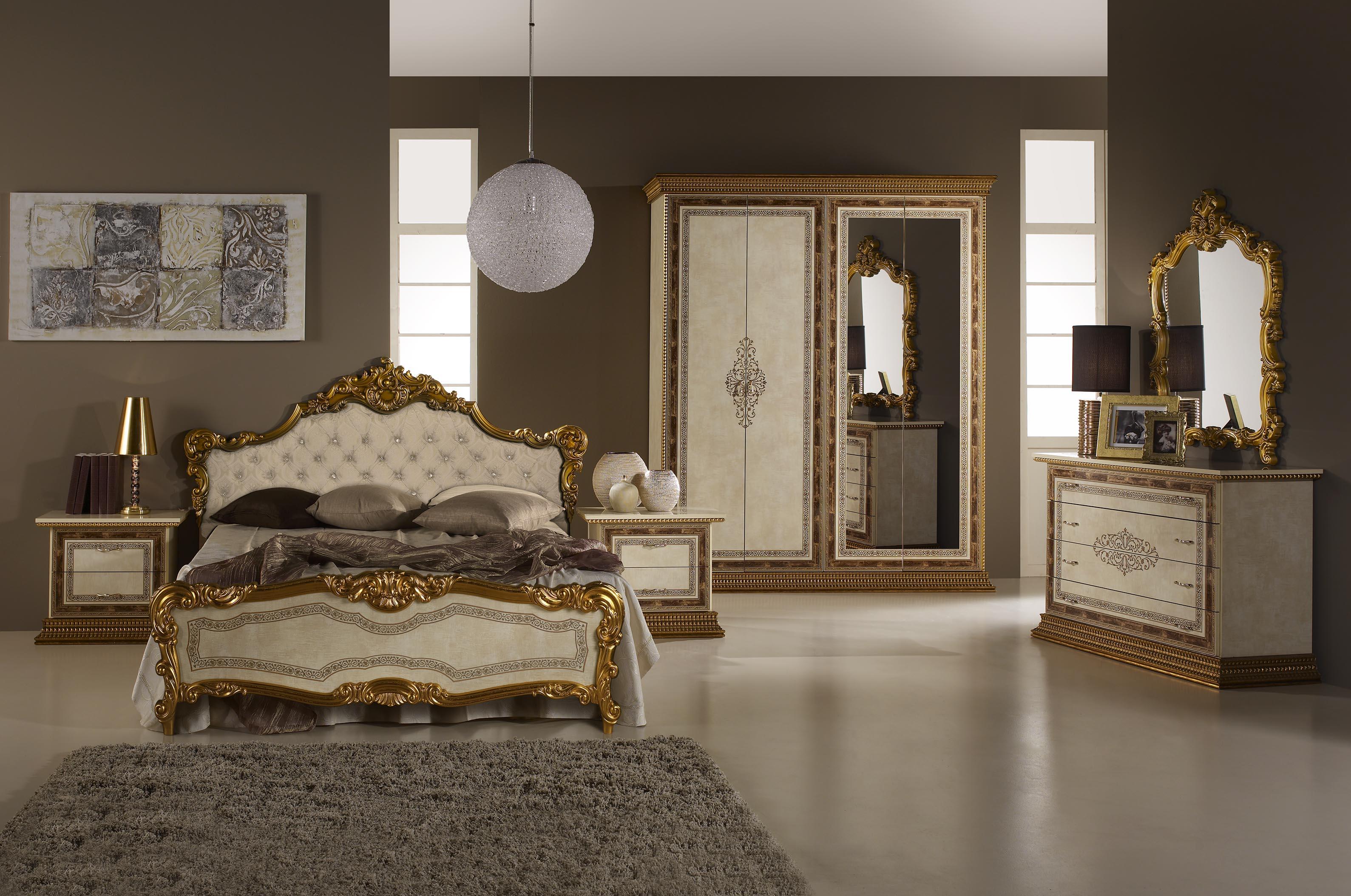 wohnwand jenny in beige gold wohnzimmer-wz-jen - Wohnzimmer Beige Gold