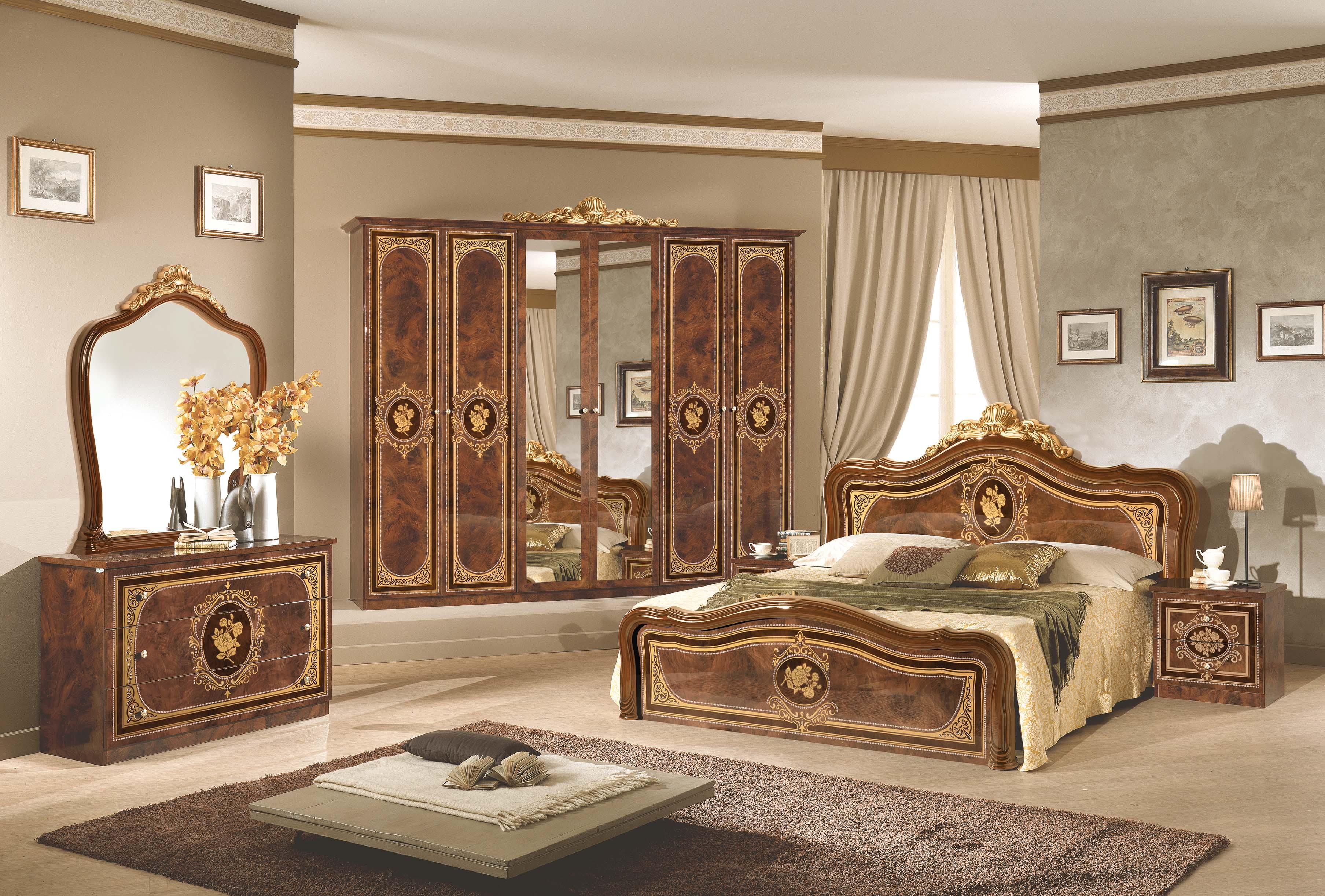 Schlafzimmer Alice in creme beige Barock 160x200cm-XP_PFALCCA4A