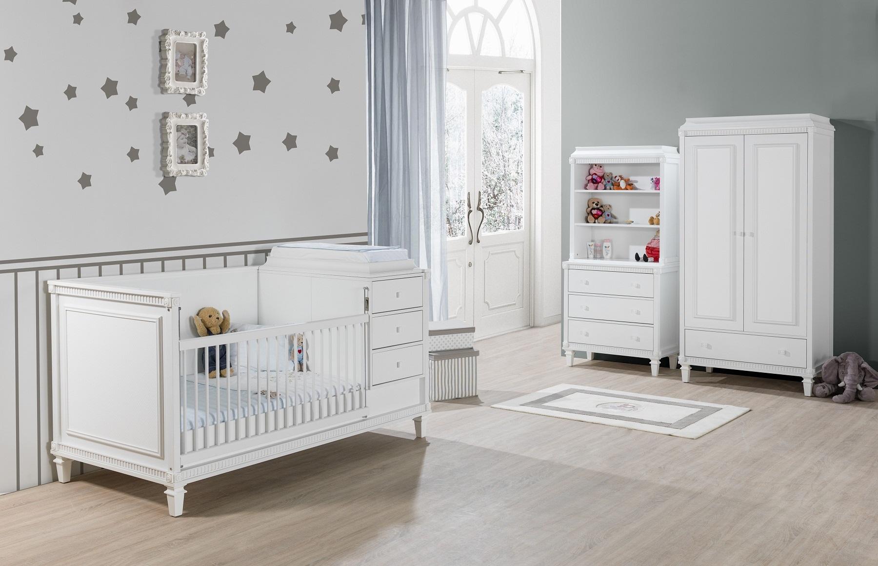 schreibtisch hazeran mit aufsatz landhausstil weiss kinder 78408. Black Bedroom Furniture Sets. Home Design Ideas