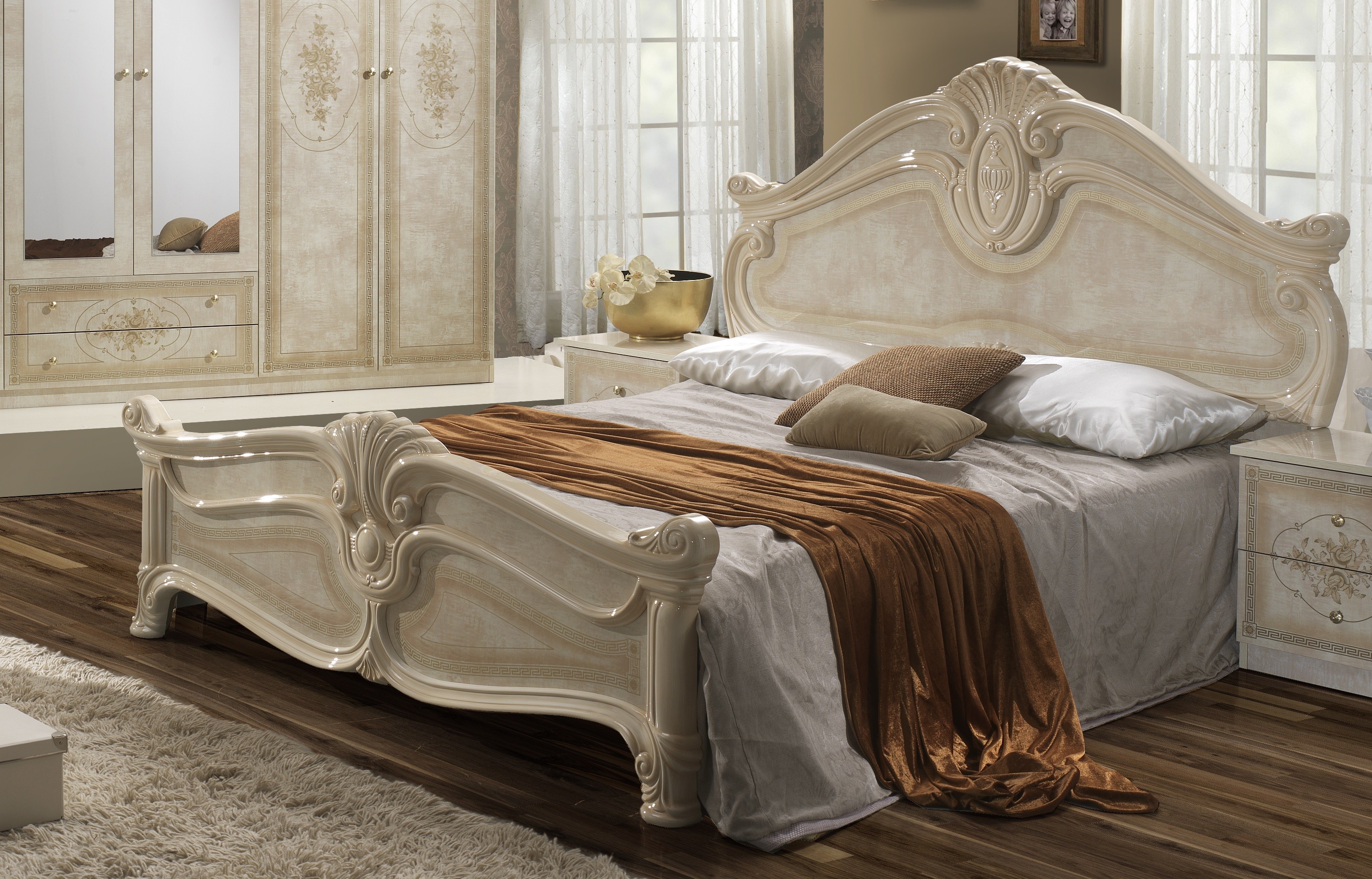 schlafzimmer komplett italienisch home affaire schlafzimmer set 4 tlg sarah deko. Black Bedroom Furniture Sets. Home Design Ideas