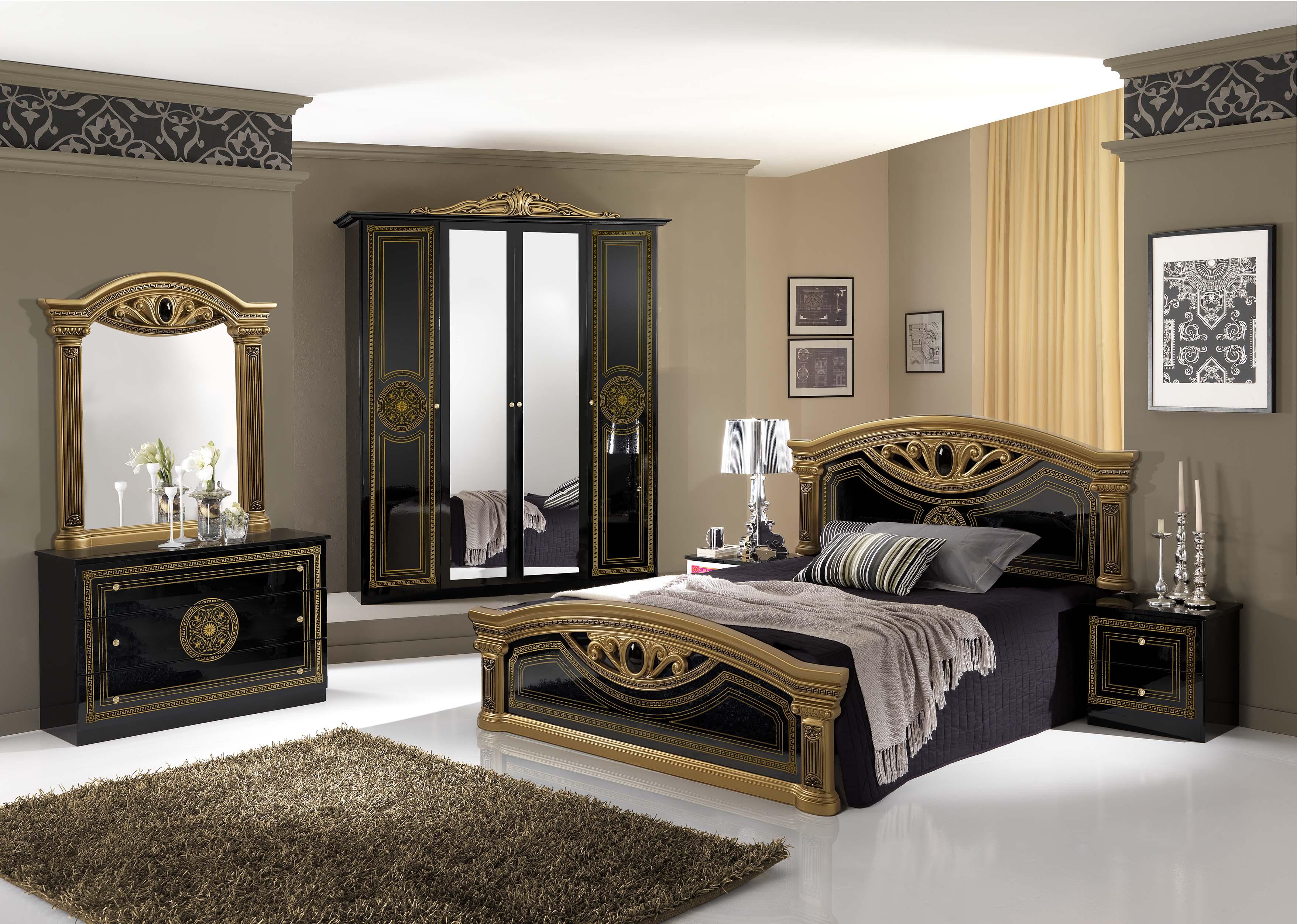 bett 180x200 cm giulia in weiss silber barock klassik xp pfglclt18weiss. Black Bedroom Furniture Sets. Home Design Ideas