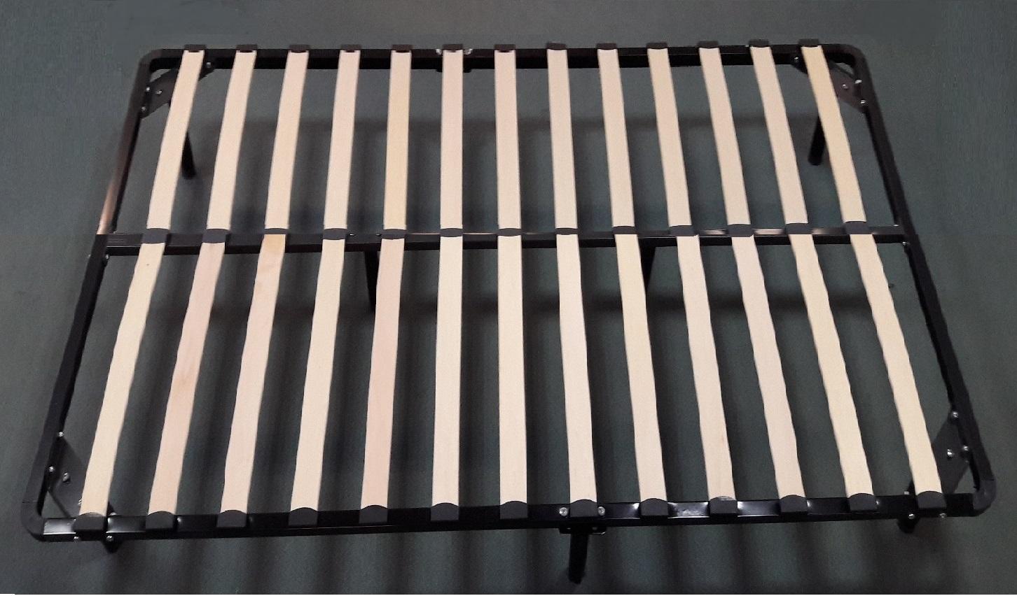 lattenrost f r bett 160x200cm inkl f e aus metall lt160. Black Bedroom Furniture Sets. Home Design Ideas