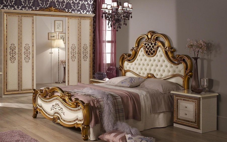 Schlafzimmer Anja Beige Italien König Bett 160 Kls 4 Trg 4tlg ... Photo Gallery