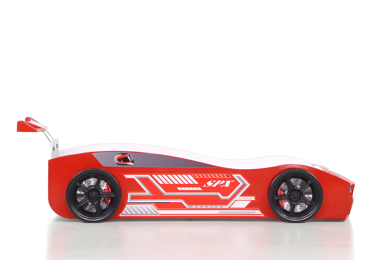 Kinder Autobett Bumer Spx Rot Mit Led Scheinwerfer K Ak749796