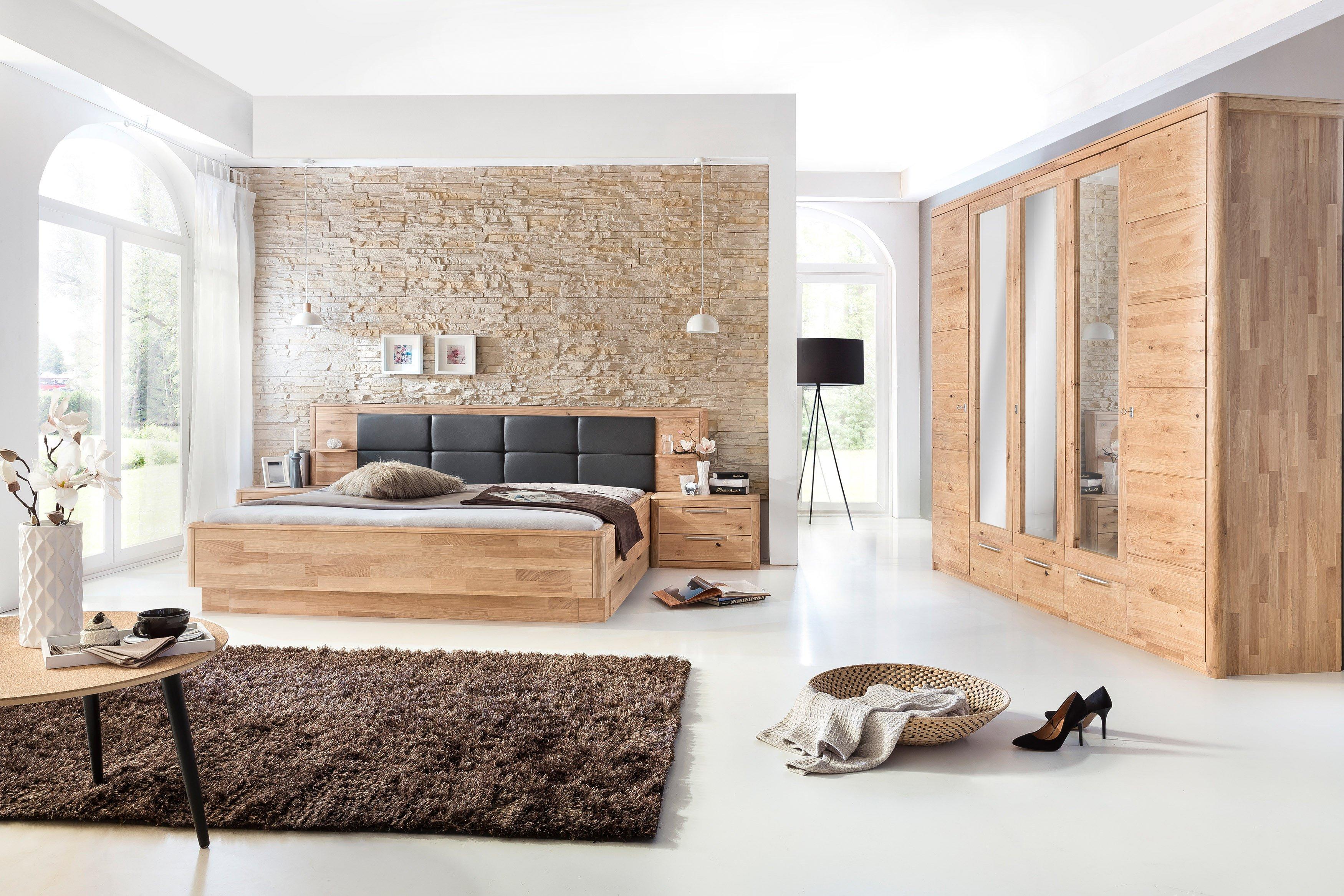 Micaja Schlafzimmer-Einrichtung 4-teilig