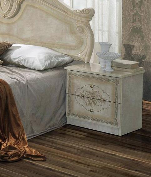 Schlafzimmer Amalia 7 Teilig In Beige 180x200 Cm Mit Schrank 6 Turig