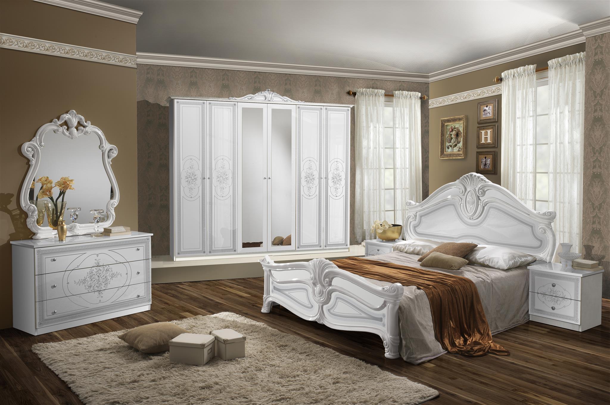 Schlafzimmer Amalia In Weiß Klassisch Design