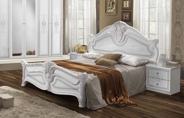 Schon Schlafzimmer Amalia In Weiß Klassisch Design ...