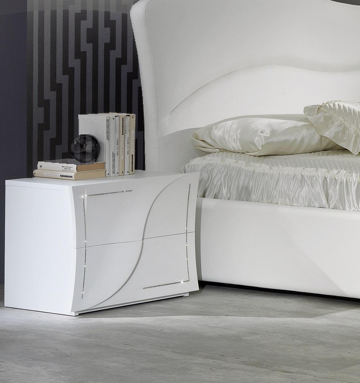 Schlafzimmer Schrank Modern Design Weisser Kleiderschrank: Modernes Kleiderschrank , Elegantes Schlafzimmer