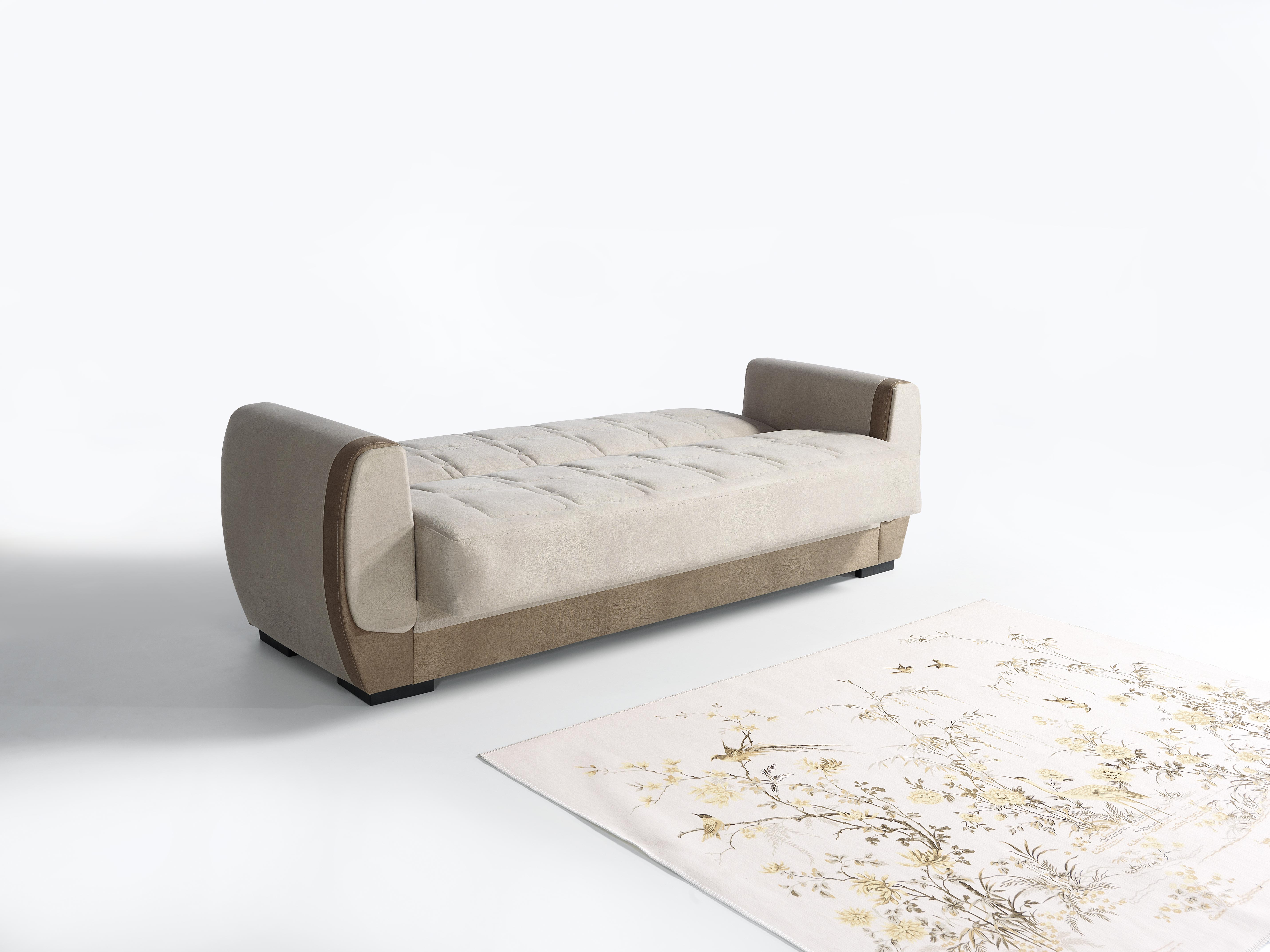 Strange Sofa Couch Set Bade 3 2 1 In Beige Mit Schlaffunktion Bralicious Painted Fabric Chair Ideas Braliciousco