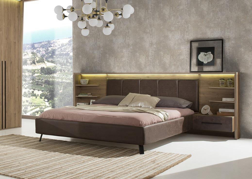 ... Schlafzimmer Set Eden In Braun Modern Design ...
