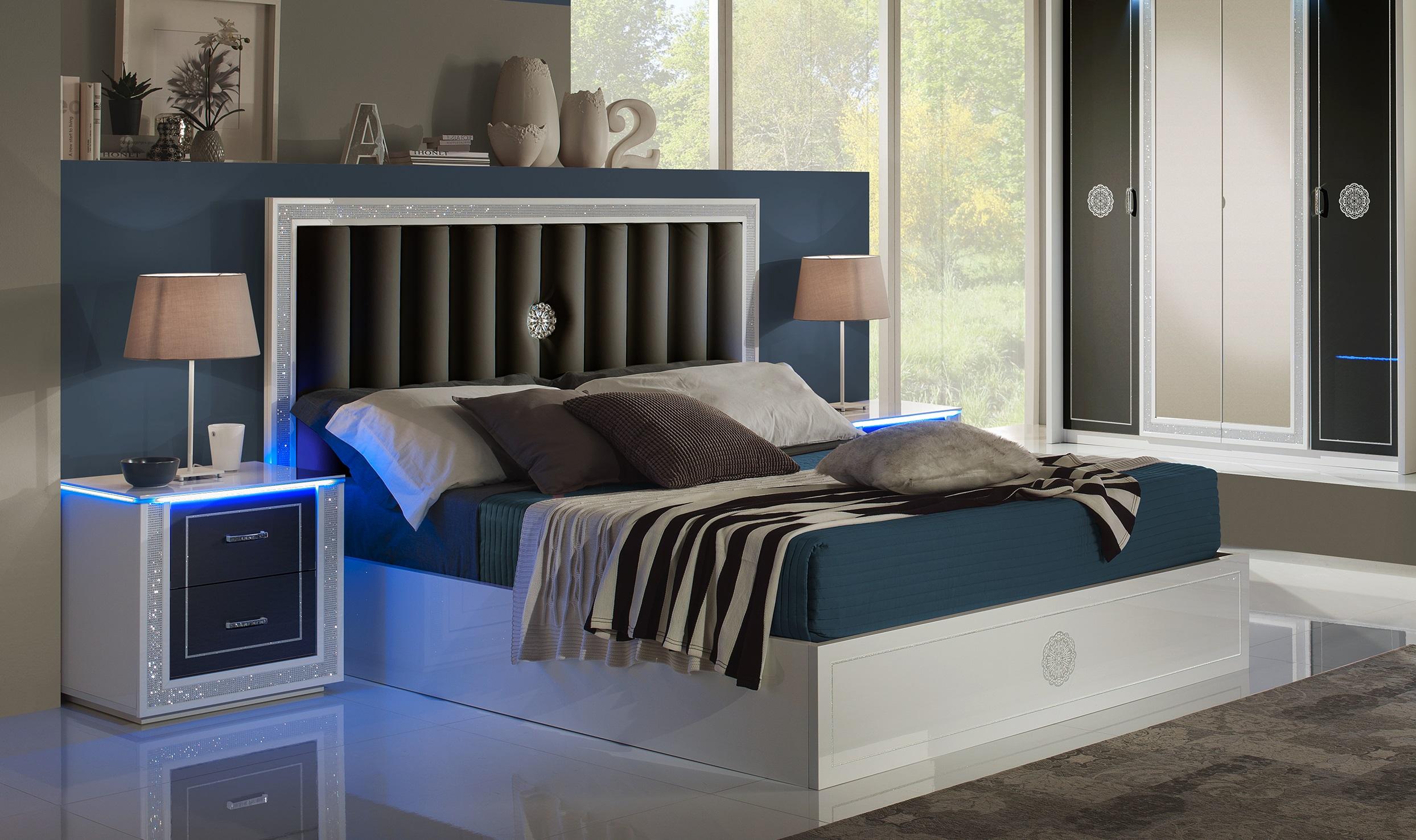 Elegantes Bett, Modernes Bett