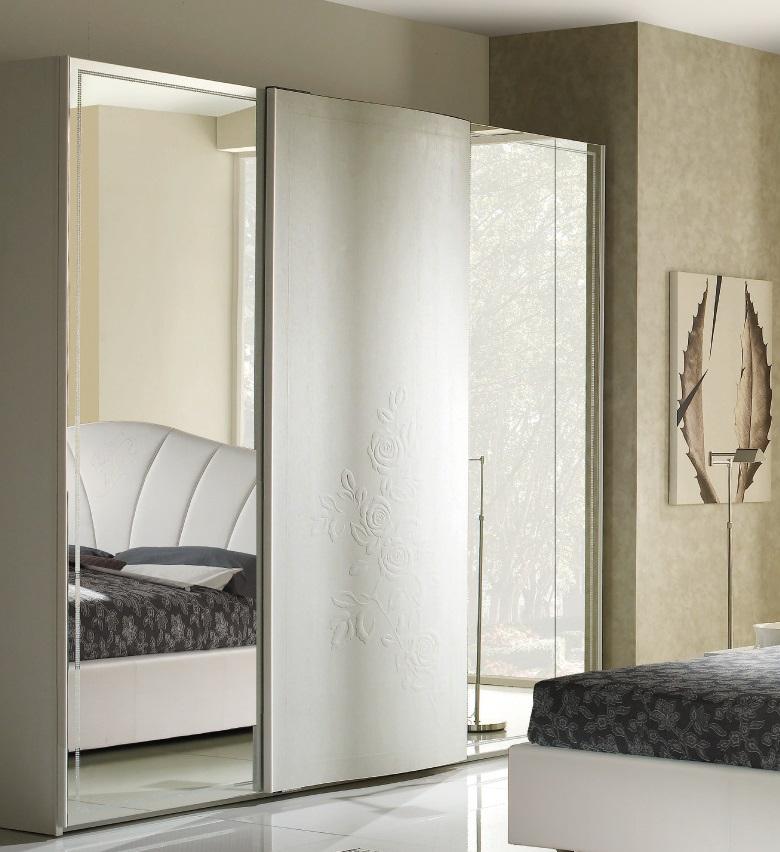 Schlafzimmer Set Canel In Weiss Modern Design 180x200 Cm Mit