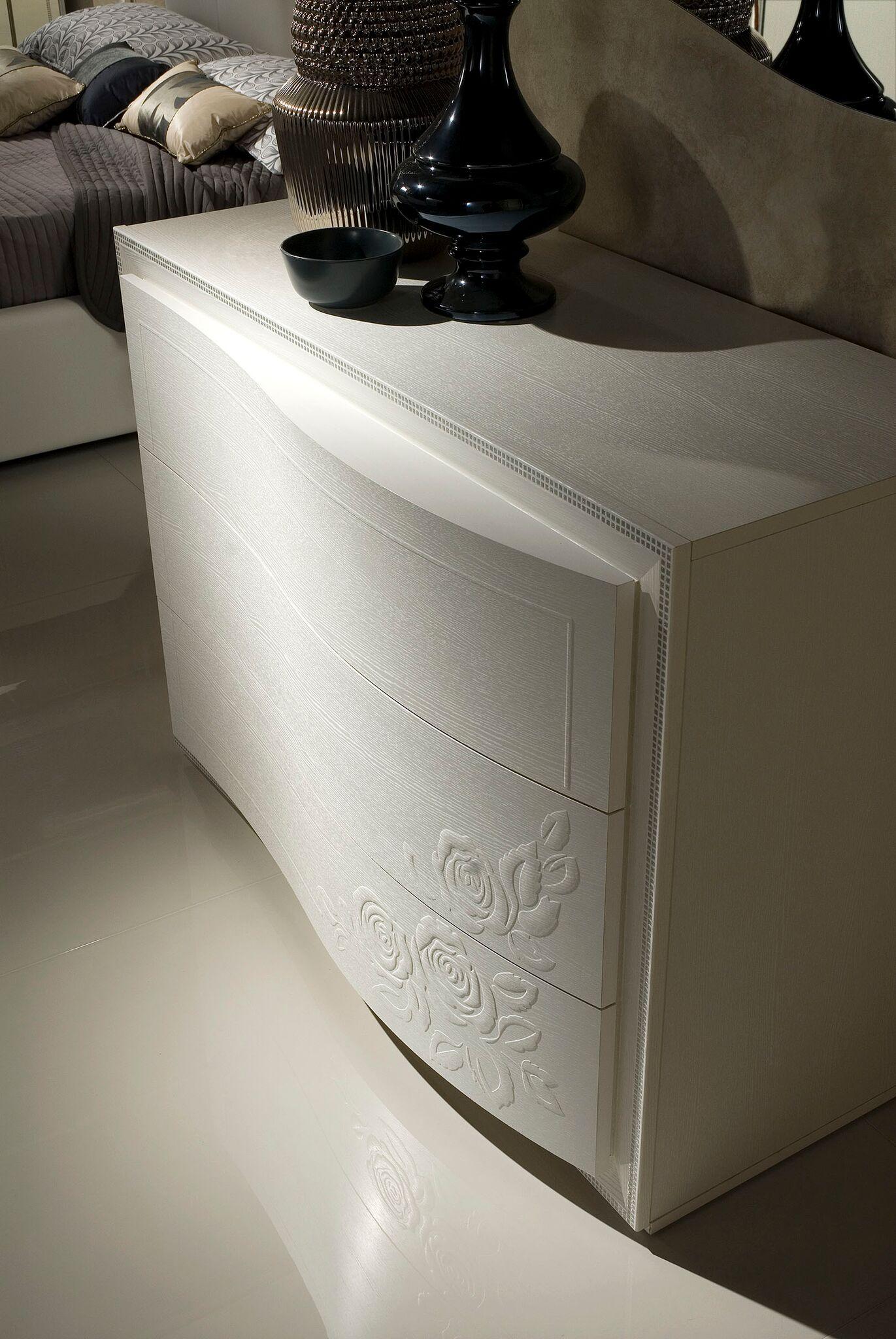 schlafzimmer set canel in wei modern design 180x200 cm. Black Bedroom Furniture Sets. Home Design Ideas