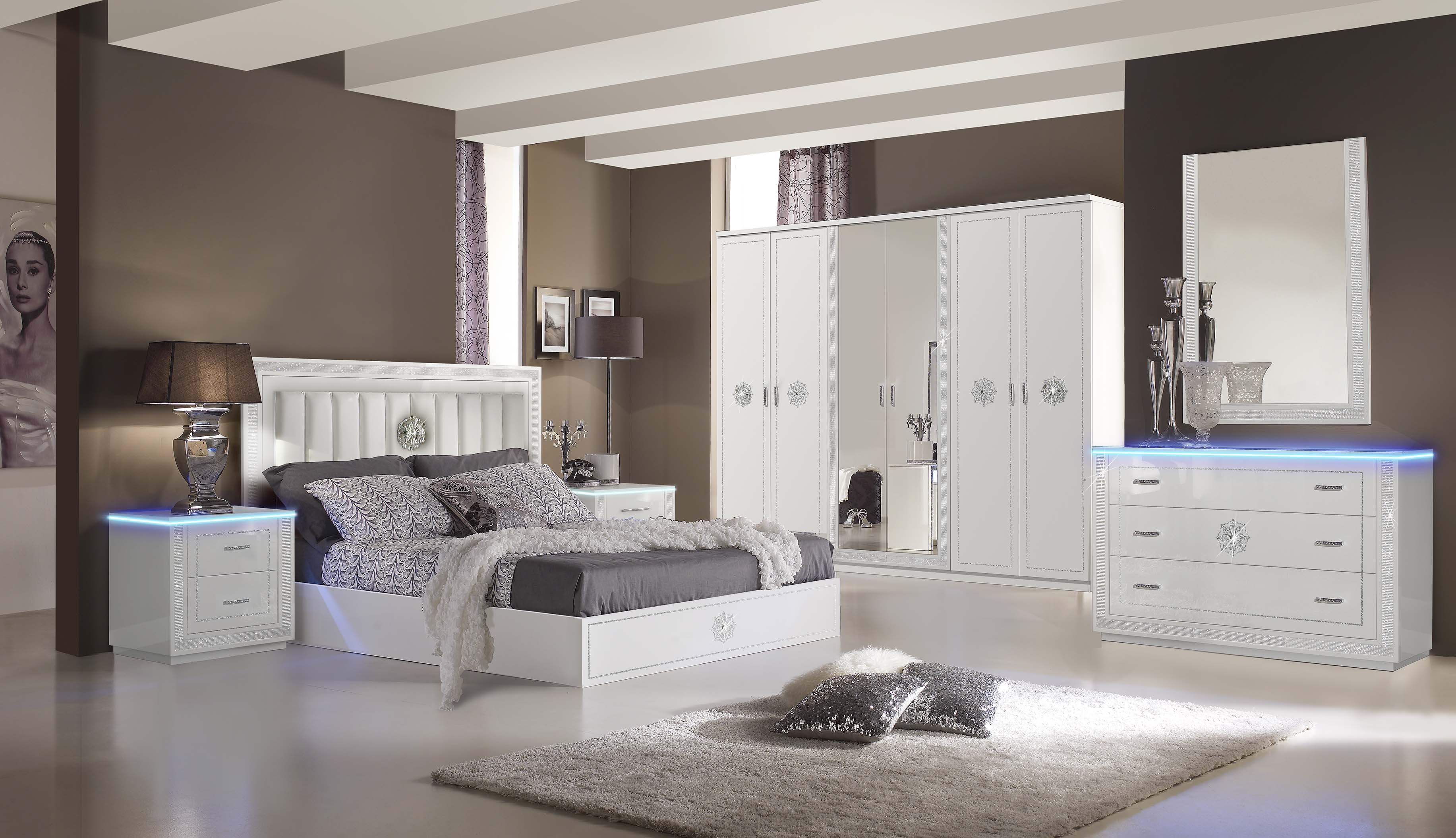 elegantes schlafzimmer modernes schlafzimmer. Black Bedroom Furniture Sets. Home Design Ideas