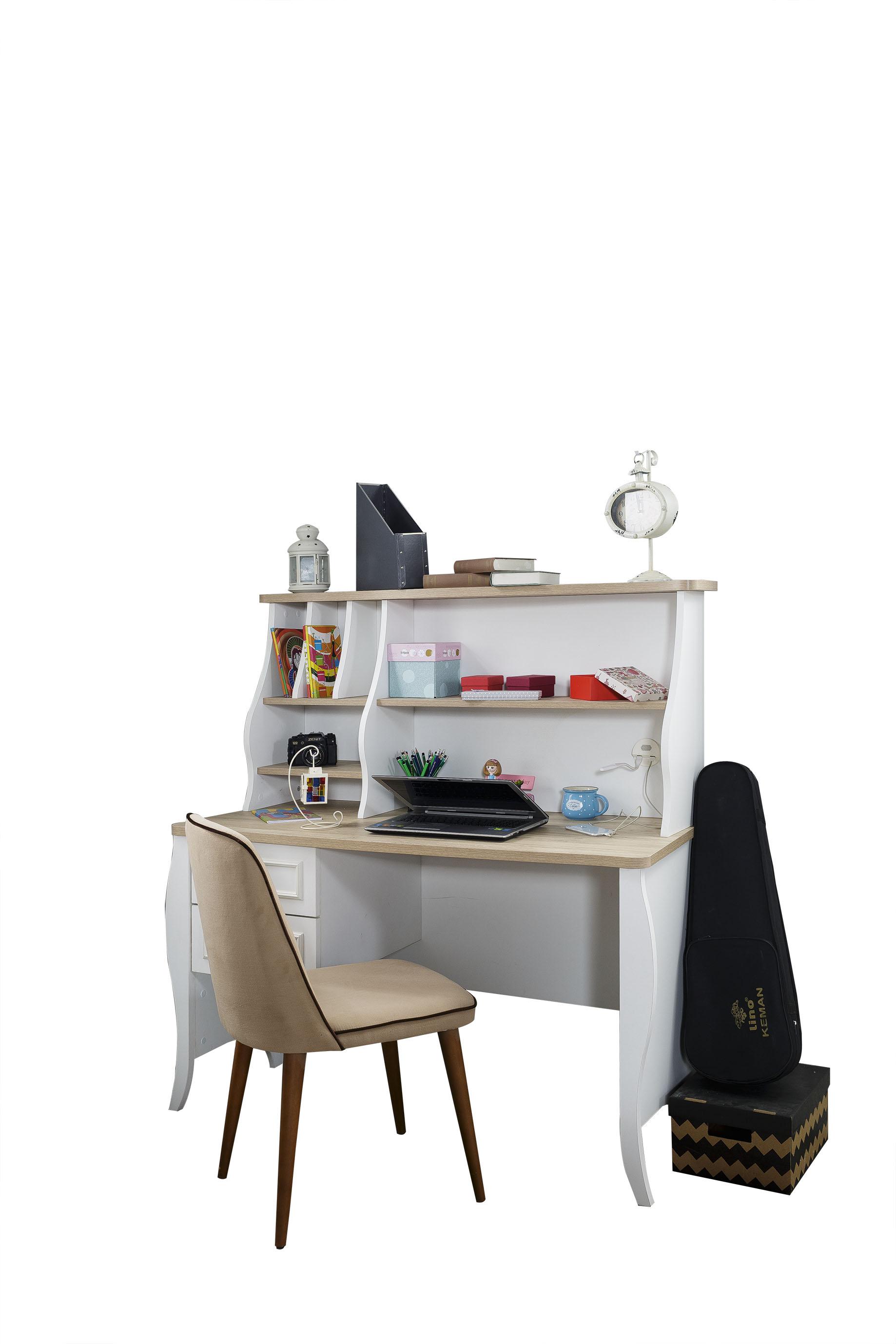 schreibtisch mit ausatz f r kinder und jugendliche. Black Bedroom Furniture Sets. Home Design Ideas