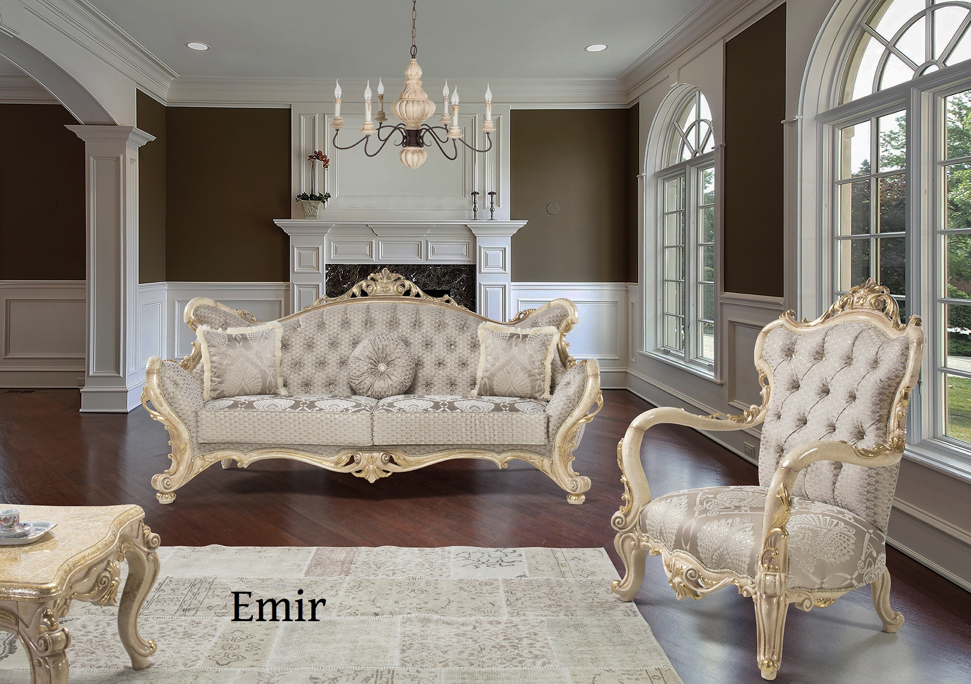 Elegante Couch Set Designer Couch