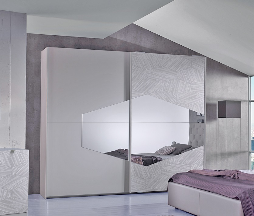 bett firenze in grau modern design 180x200 cm mit lattenrost 26 leisten. Black Bedroom Furniture Sets. Home Design Ideas