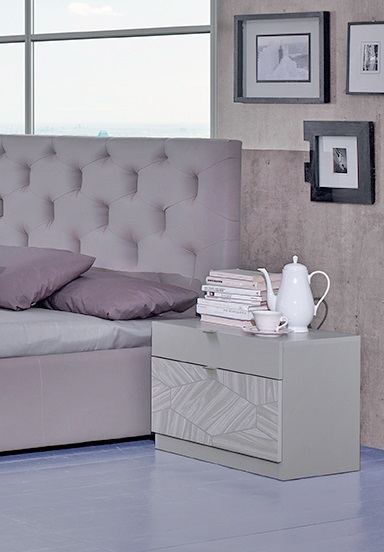 bett 160x200 cm firenze in grau modern fi b160. Black Bedroom Furniture Sets. Home Design Ideas