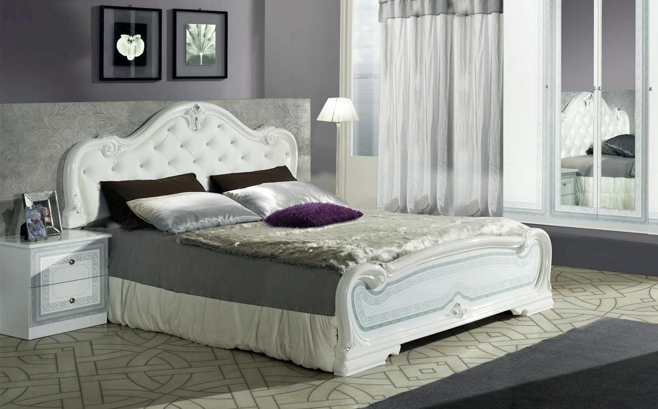 Schlafzimmer Set Lion In Weiss Klassisch Design ...