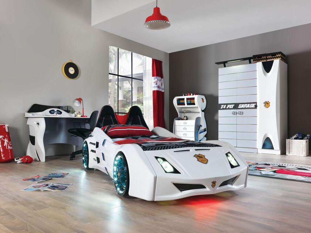 kinderzimmer f r autofans sch nes kinderzimmer. Black Bedroom Furniture Sets. Home Design Ideas