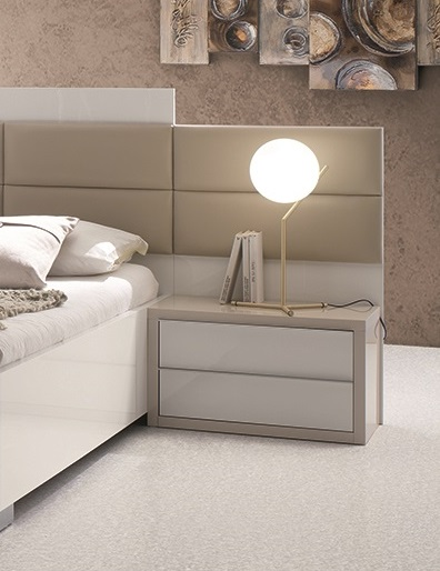 ... Schlafzimmer Tijana In Beige Weiss 6tlg