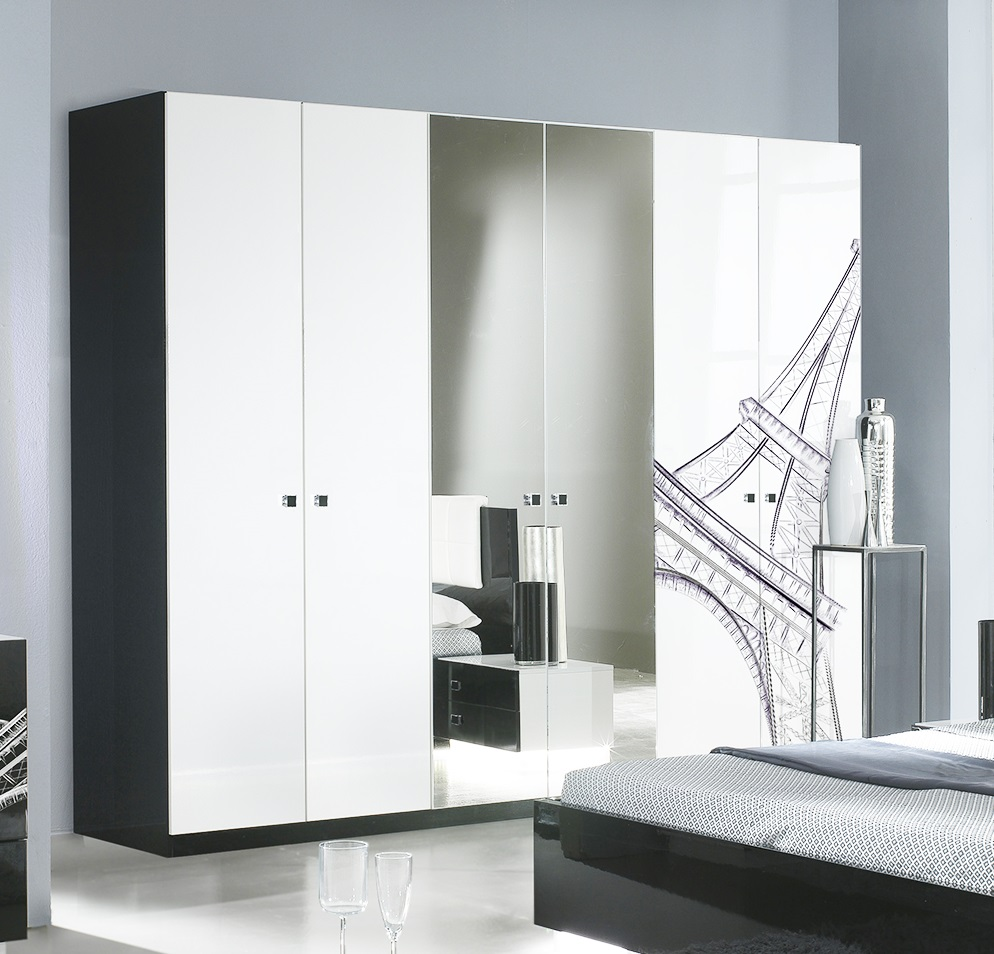 kleiderschrank 4t rig g nstig kleiderschrank modernes. Black Bedroom Furniture Sets. Home Design Ideas