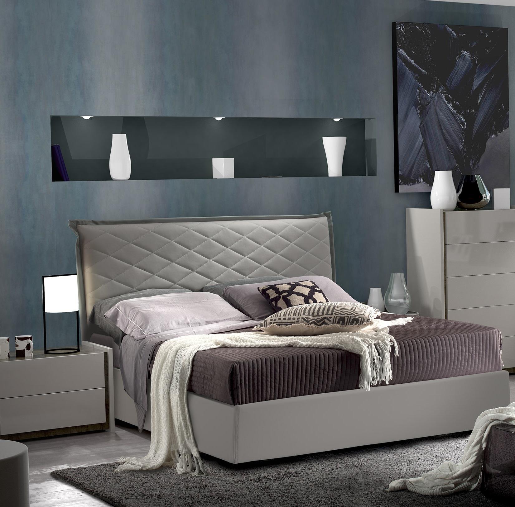 Schlafzimmer Set Valencia modern 14x14 cm / mit Schrank 14 türig / ohne  Kommode und Spiegel