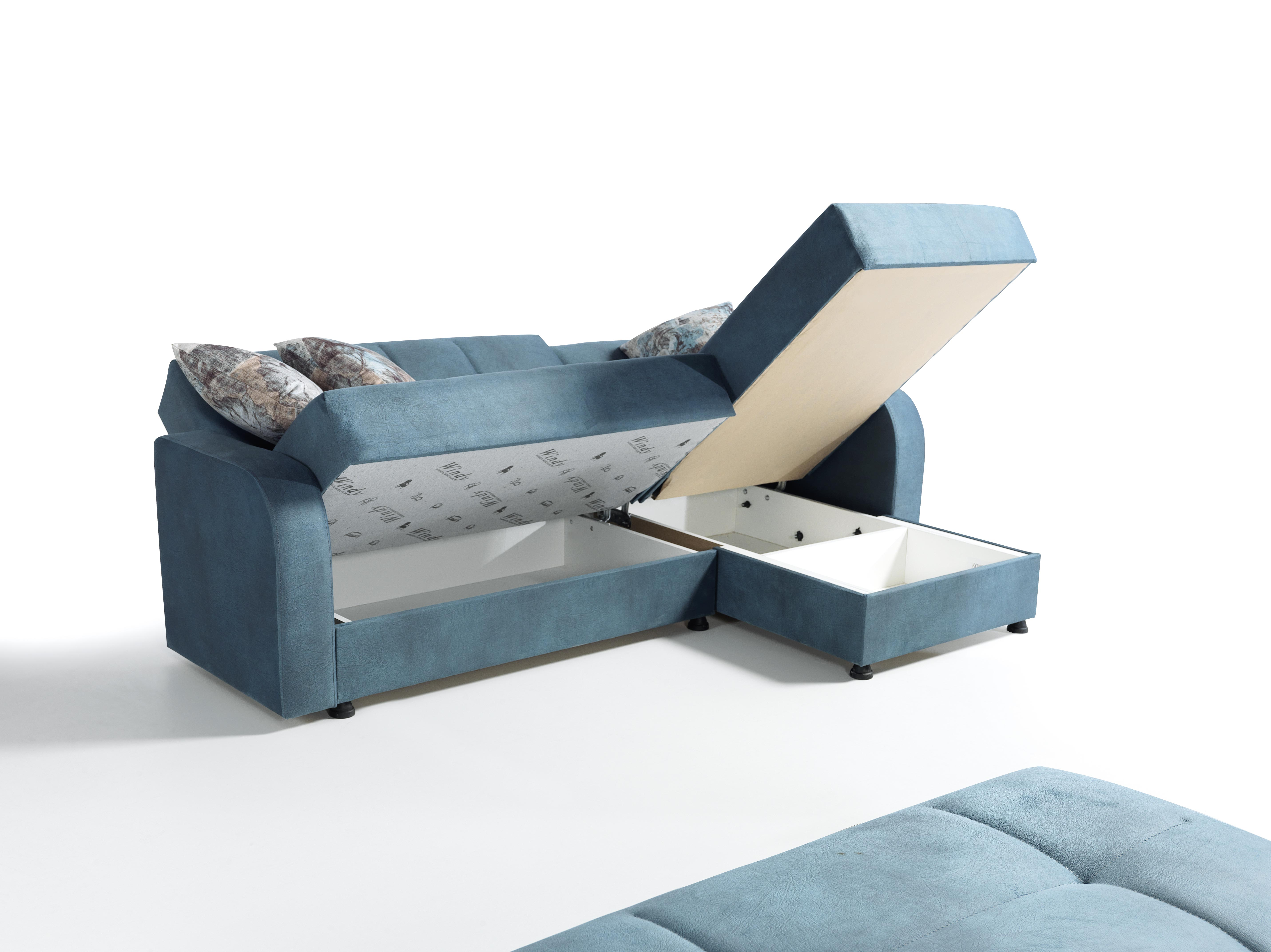 Sofa Eckcouch Set Lion mit Schlaffunktion und Stauraum