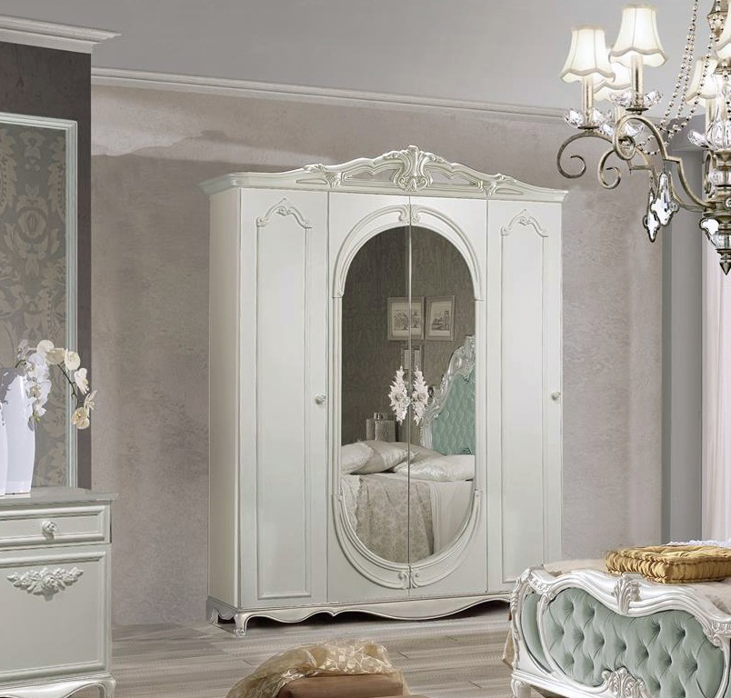 ... Schlafzimmer Set Atene In Creme Vintage Grün Im Königlichen Stil ...