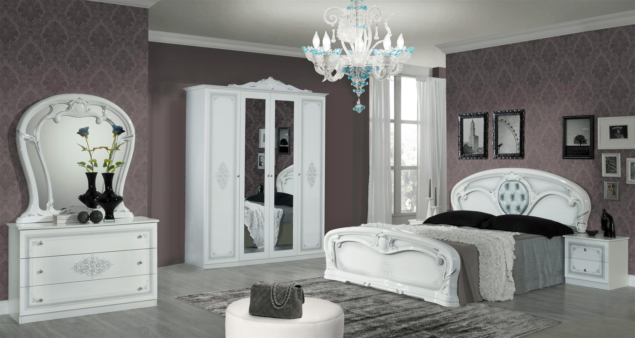 klassisches bett barock bett. Black Bedroom Furniture Sets. Home Design Ideas