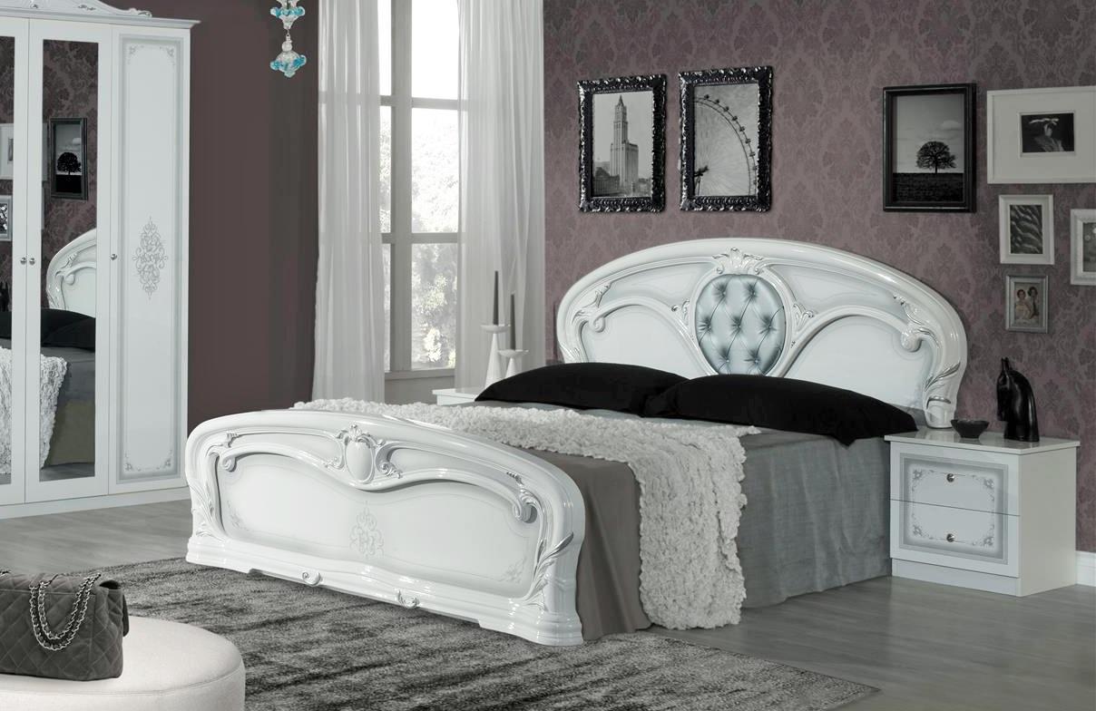 Schlafzimmer Christina In Weiß 6 Teilig Klassisch Design ...