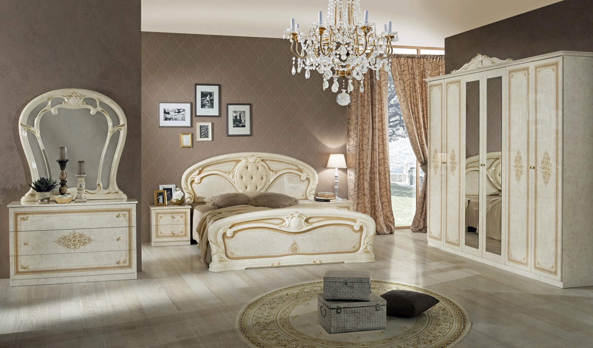 Barock Schlafzimmer , Klassisches Schlafzimmer