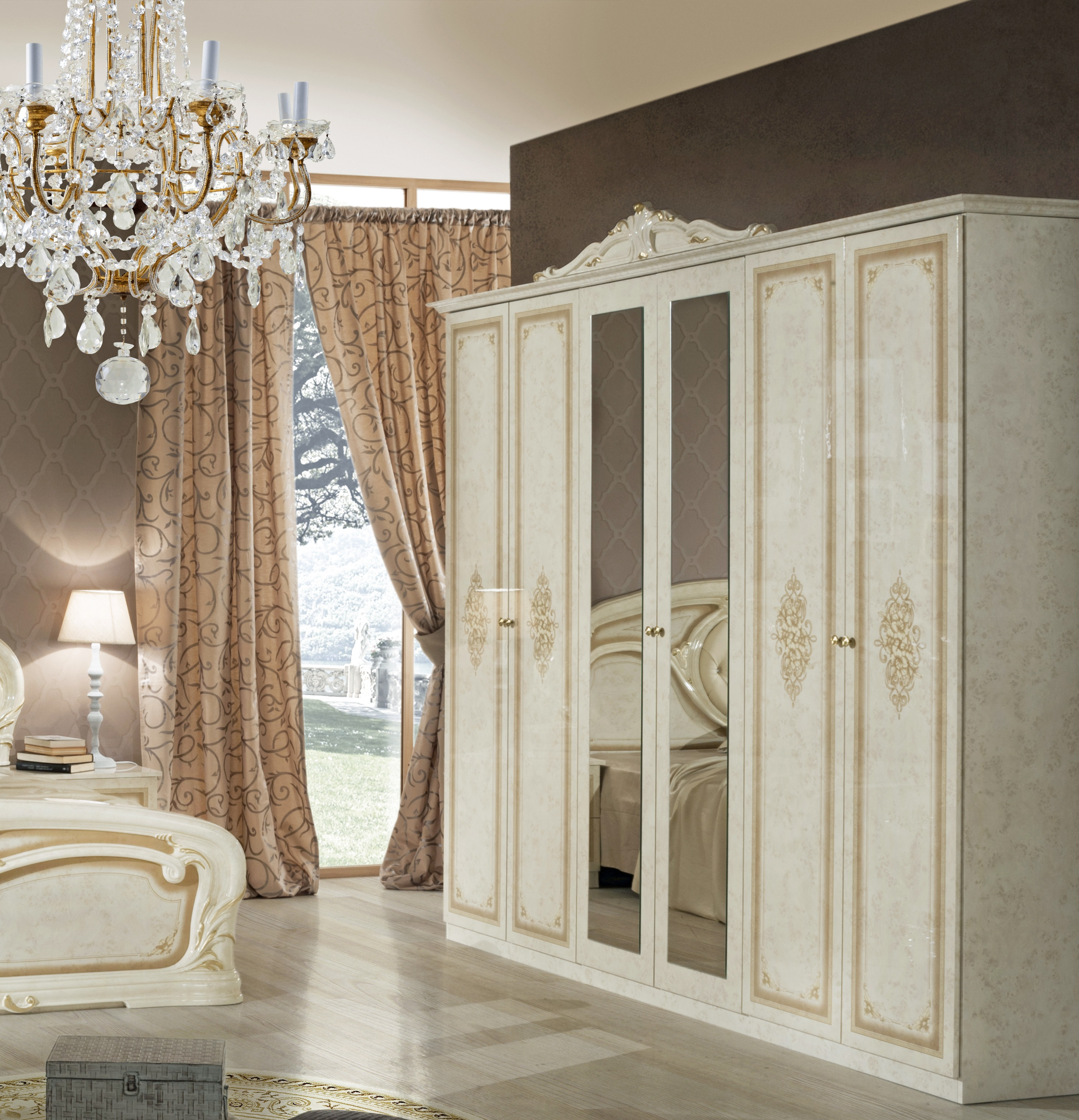 barock schlafzimmer klassisches schlafzimmer. Black Bedroom Furniture Sets. Home Design Ideas