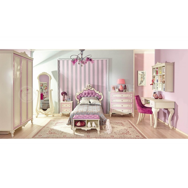 sch nes m dchenzimmer g nstiges kinderzimmer. Black Bedroom Furniture Sets. Home Design Ideas